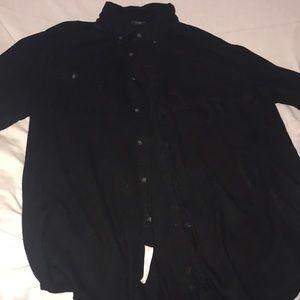 St. John's Bay Shirts - Long sleeve St Johns bay button down